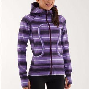 Lululemon Scuba Hoodie  Purple Ombre Stripes 6